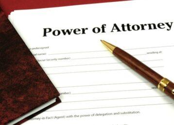 Power of Attorney 1